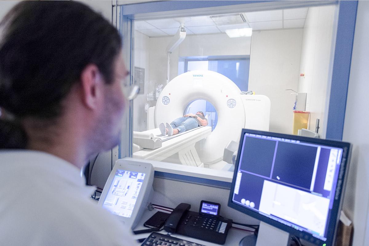 Radiologie Untersuchung